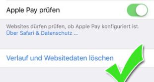 Handy Suchverlauf auf dem iPhone löschen